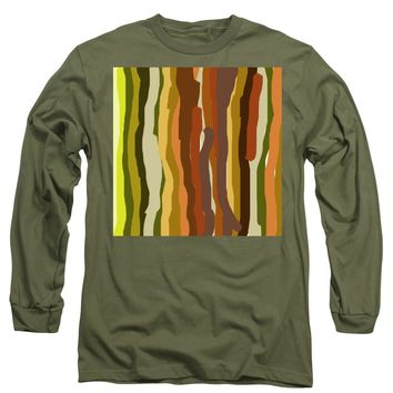 Ooh, You Are Awful ... But I Like You, Abstract Art By Adam Asar - Long Sleeve T-Shirt