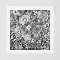Oana Befort Kitty Undercover Art Print - Urban Outfitters