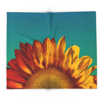 Society6 A Sunflower Blanket