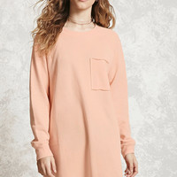 Longline Raw-Cut Sweatshirt