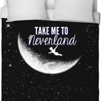 Take Me To Neverland Duvet Cover