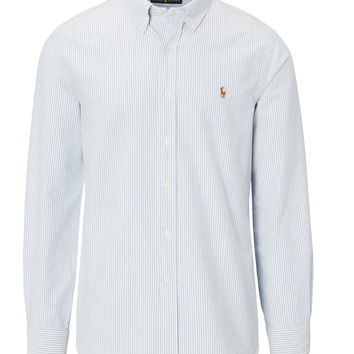 STRIPED OXFORD SPORT SHIRT