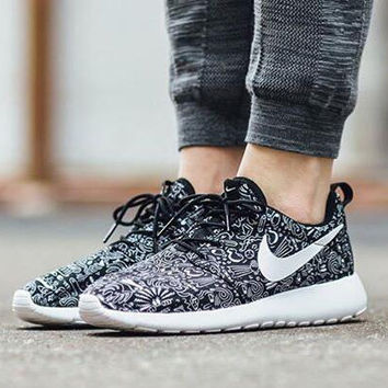 NIKE Roshe One Print Premium Women Men Casual Running Sport Shoe ec7073517fae