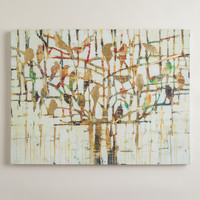 """Gold Trees"" by Liz Jardine - World Market"