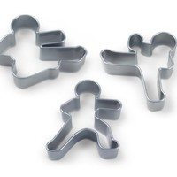 Fred & Friends NINJABREAD MEN Cookie Cutters, Set of 3