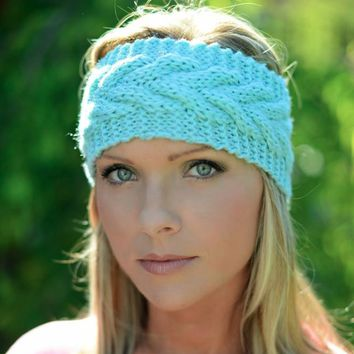 Headbands ~ Cable Knit Headbands & Ear Warmers. Assorted Colors Available. Winter Accessories