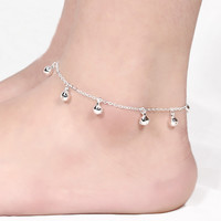 Fashion Foot Jewelry 925 Sterling Silver Anklet