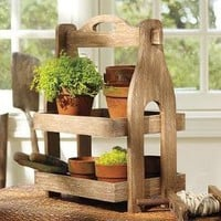 Wooden Garden Stand | Pottery Barn