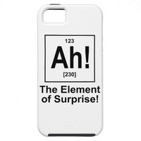Ah! The Element of Surprise. iPhone 5 Covers from Zazzle.com