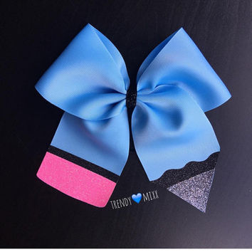 Pencil cheer bow