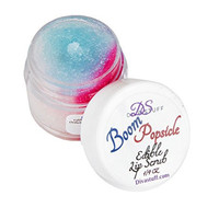 Diva Stuff Boom Popsicle Edible Lip Scrub - Moisturizes with a Great Taste - Made in the USA with Safe Ingredients - .25 fl. oz.