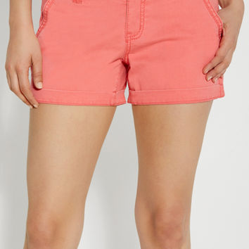 chino shorts in coral pop | maurices