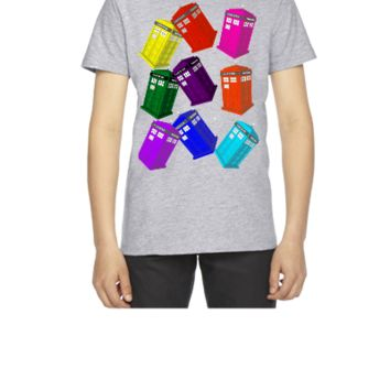 doctor who design - Youth T-shirt