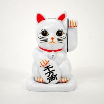 LUCKY CAT NOVELTY BUTANE LIGHTER Maneki Neko Kitty NEW