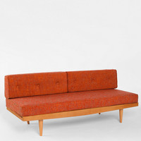 Mid Century Sofa in Orange - Urban Outfitters