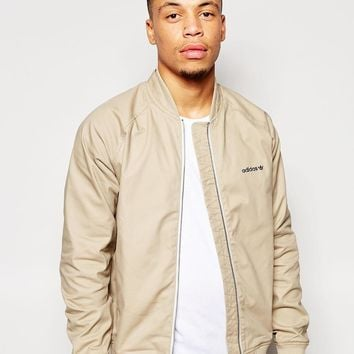 adidas Originals | adidas Originals SST FZ Woven Jacket at ASOS
