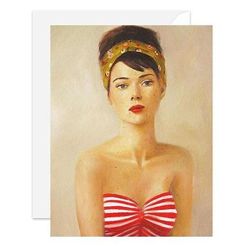 Janet Hill Studio - Freckle Face Card