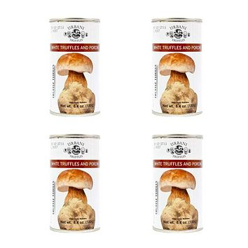 4 Pack Urbani White Truffles and Porcini 6.4 oz. (180g)