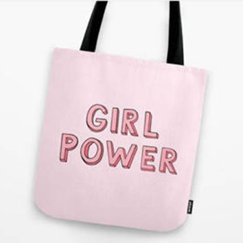 Custom Tote bag, Personalized tote bag, Bridesmaid tote bag, Bridesmaid Sets of 4/6/8 bags, Bridesmaid gift, Girl Power tote bag