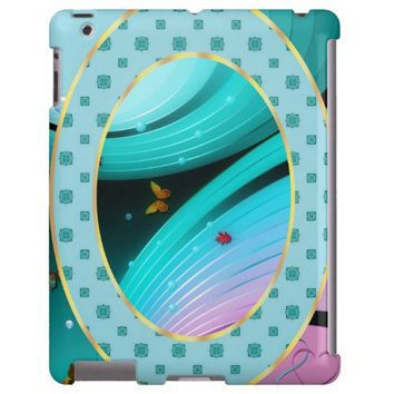 Love Is In The Air - Mate Barely There iPad Case