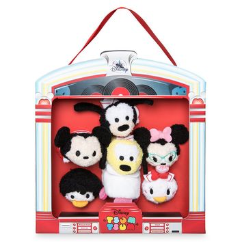 Disney Mickey Mouse and Friends '50s Diner Tsum Set Micro New with Box