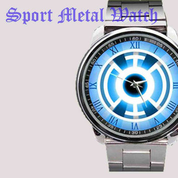 New hot Green Lantern DC Comics Blue Universe Power Rings Sport watch limited edition