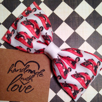 Rocky Horror Picture Show inspired hair bow