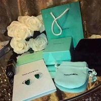 Tiffany & Co. Peach Heart Emerald Noble ring