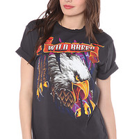 Bandit Tee Wild Breed Boyfriend in Black
