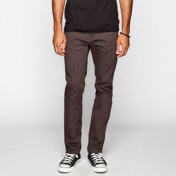 Levi's 511 Line 8 Mens Slim Pants Black Coffee Melange  In Sizes
