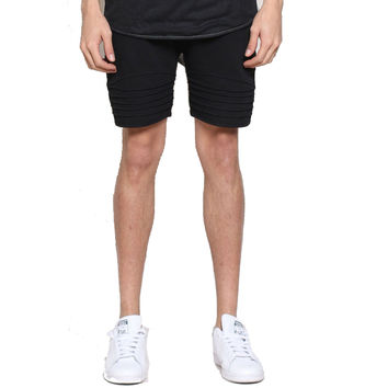 UNKNOWN Black French Terry Shorts Black