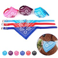 1Pc Cute Pet Dog Canvas Scarf Collar Adjustable Puppy Triangle Bandana High Quality Pet Cat Tie Collars Pet Accessories A35
