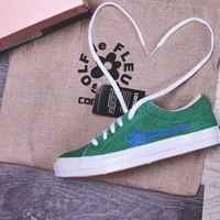 VONE05RT Converse one star X Golf Le Fleur 'Green' Sneaker