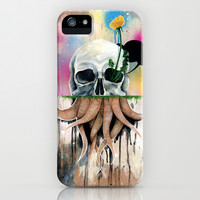 Skull Roots iPhone & iPod Case by FAMOUS WHEN DEAD