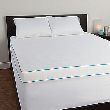"Sealy Posturepedic 4"" Memory Foam Mattress Topper - 4"" King Memory Foa"