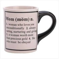 What A Mom Is Mug from Jannie's LiveDeals