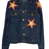 Starry Evening Denim Jacket