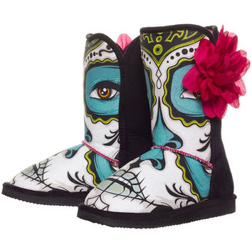 Iron Fist - Lady Killer Fugly Black Womens Boots