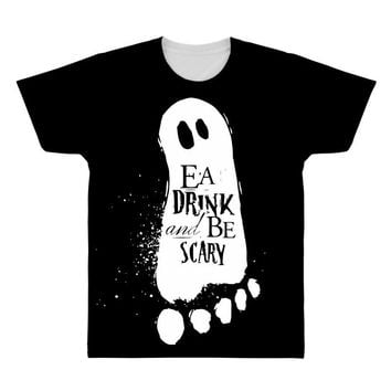 eat drink and be scary All Over Men's T-shirt