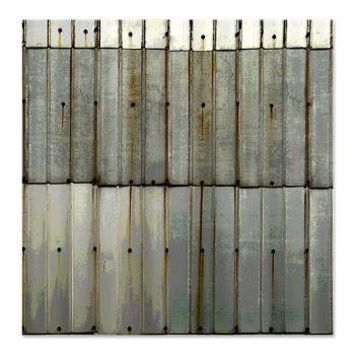Rustic Rusty Tin Grunge Shower Curtain Coastal Vintage And Urb