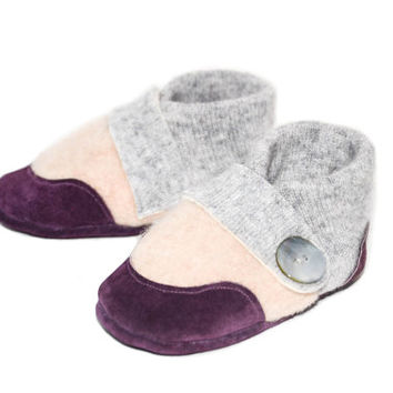 Baby Shoes, Toddler Cashmere Slippers