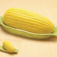 Corn Ceramic Butter Holder Serveware