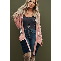 Pretty Picture Cardigan (Pink)