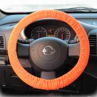 Steering-wheel-cover-for-wheel-car-accessories-Neon-Orange