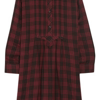 Étoile Isabel Marant - Ilaria oversized plaid cotton-flannel dress