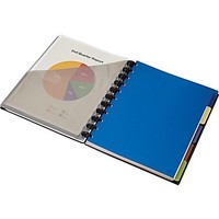 Staples® Arc Customizable Durable Poly Notebook System with Accessories Black, 9-3/8 x 11-1/4 | Staples