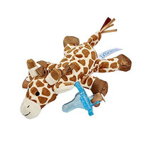 Dr. Brown's Lovey with Blue One-Piece Silicone Pacifier, Giraffe