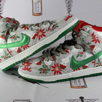 "AUGUAU Nike Dunk High PRM CNCPTS ""Ugly Christmas Sweater"""