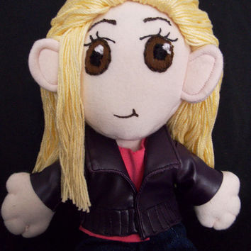 Doctor Who Rose Tyler Plush Doll Plushie Toy Ragdoll Billie Piper