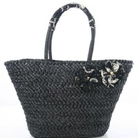 BRAIDED STRAW BAG @ KiwiLook fashion